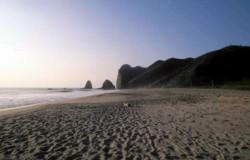 Der lange San Lorenzo-Strand