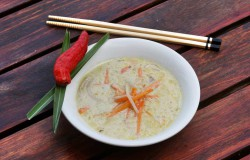 Oriental chicken soup
