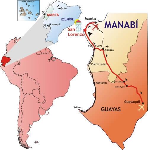 mapa-ruta-guayaquil-manta-ecuador